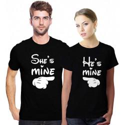 Set tricouri He's She's mine