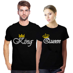 Set tricouri King Queen