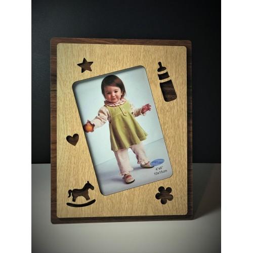 Rama foto din lemn copii